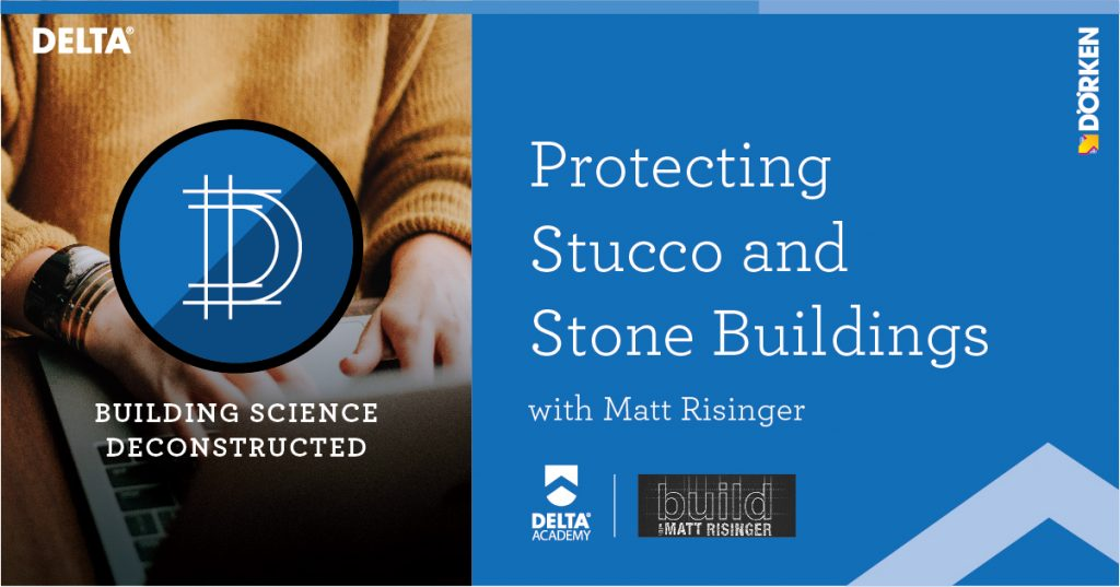 Protecting Stucco and Stone Buildings